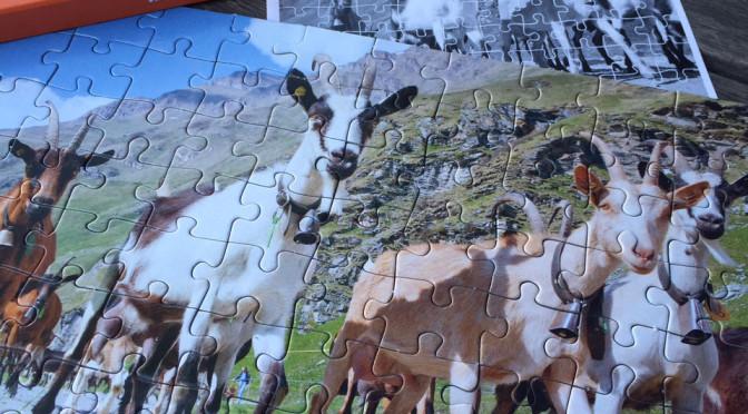 Ziegen-Puzzle - geschafft